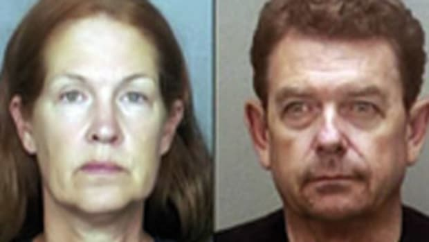 Andrea and Colin A.J. Chisholm III (here in mug shots) bought a $1.2 million Trumpy and lived in luxury homes while collecting welfare, according to authorities.