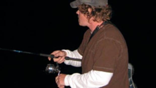 The author has landed some impressive fish with his prized 7-foot St. Croix Ben Doerr Surf System rod.