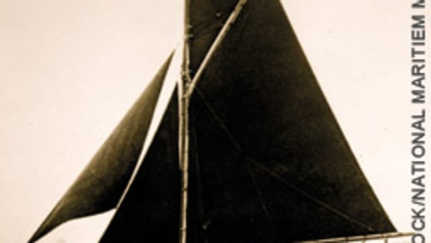 Witch, designed in 1902 by Charles Sibbick, caught the eye of a man who has become a shipwright so he can restore her.