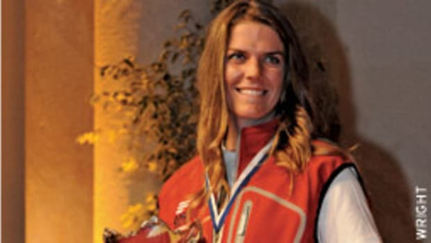 Paige Railey won the gold medal at the Princess Sofia Trophy.