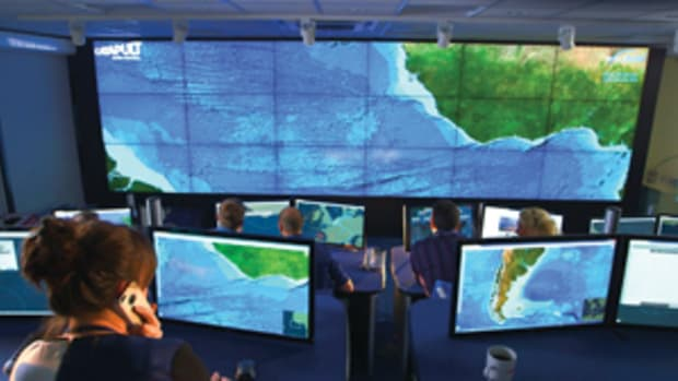 Pitcairn Islands Marine Reserve will be monitored in real time, 24/7 by a Virtual Watch Room.
