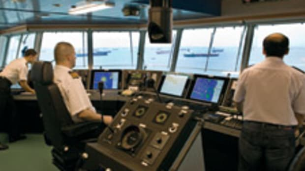 New technologies could lead to remotely operated vessels with no crew on the bridge.