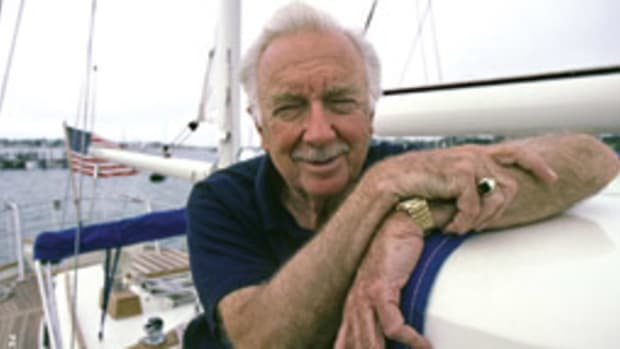 The world knew Walter Cronkite as a TV anchorman, but around the docks he was known as a fine sailor.