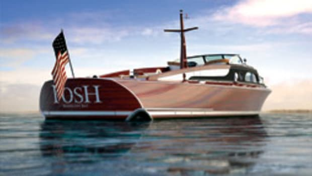 Designer Bill Prince has been called on to create a 21st century interpretation of the 52-foot commuter yacht POSH, designed by John L. Hacker in 1937.