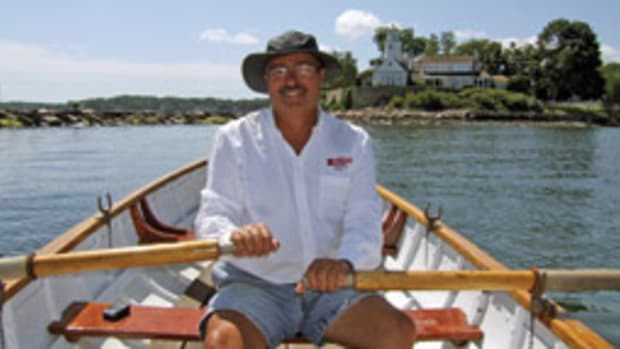 Rowing a Whitehall brought the writer back to the boating days of his youth.