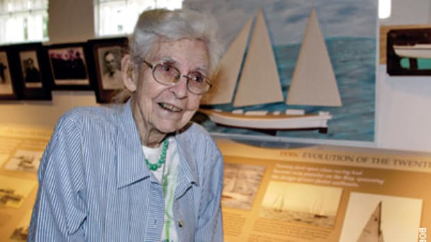 Jane Hartge grew up in a sailing family and married into one.