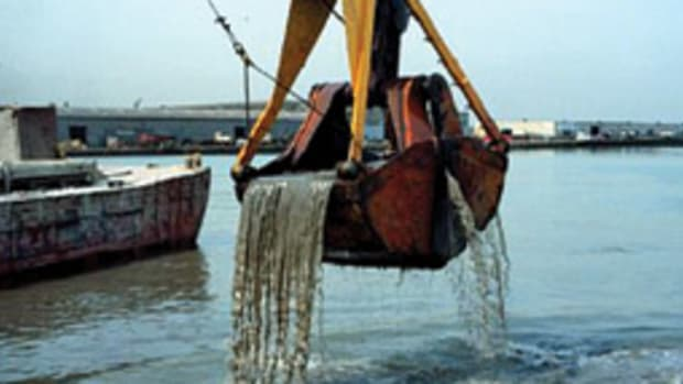 Dredging will become a much more common sight after a $1.9 billion boost from the federal stimulus package.