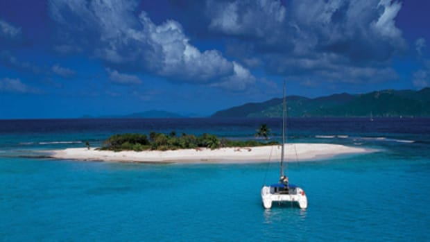 Predictable conditions and line-of-sight navigation make the British Virgin Islands a popular charter destination.