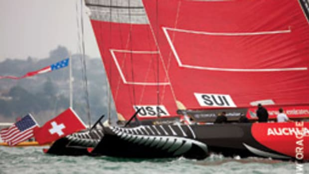 It looks like BMW/Oracle and Alinghi will finally clash outside of the court.