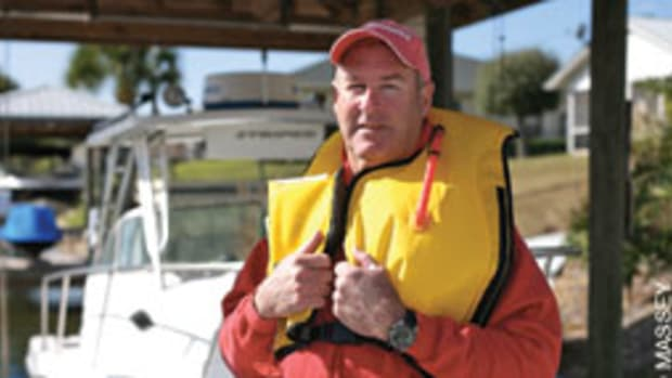 Norm Manley spent more than three hours in the water, drifting out of St. Augustine Inlet and into the ocean before he was rescued.