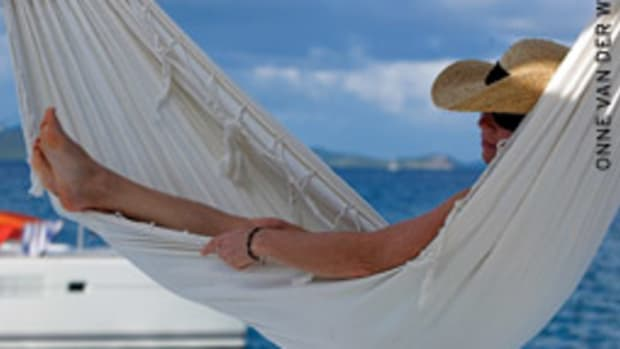A hammock can help you get that swinging feeling when you're off the boat.