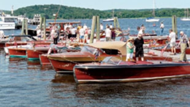 The Southern New England Chapter of the Antique and Classic Boat Society will host Mahogany Memories, the group's 25th anniversary boat show.