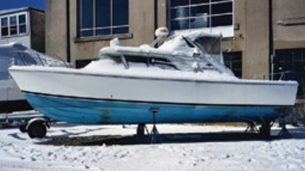 J. Johnston Marine performed a complete restoration of this 1966 Bertram 31 Bahia Mar.