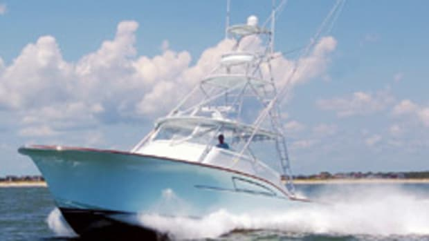 The Island Style Q42 sportfisherman is the first offering from Ocean Isle Beach-based Island Style Yachts.