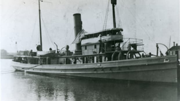 The USS Conestoga was lost in 1921 on her way to American Samoa.