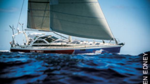 Lyman-Morse built Stanley Paris' custom yacht with a suite of unique features for the journey.