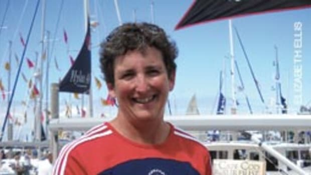 A U.S. Olympic sailor, Carol Newman Cronin won two races in Athens, Greece.