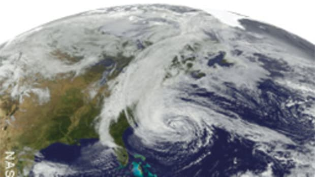 Sandy has been called the biggest storm ever to form in the Atlantic Basin.