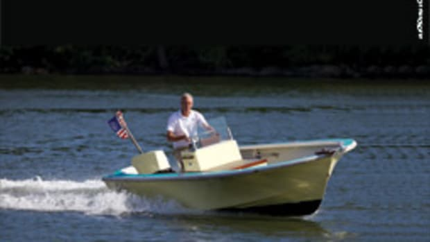 Gordon Reed had an overhaul done on his 1965 Glastron V-171 Crestflite.