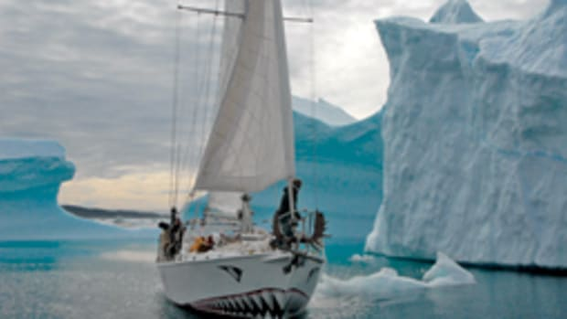 Jarle Andhoy's steel-hulled 48-footer Berserk was lost in a storm last year in the Antarctic.
