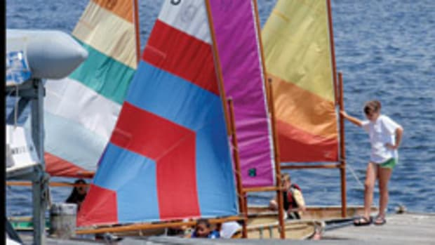 About 75 children participated in the Old Saybrook, Conn.-based North Cove Yacht Club's Junior Sailing Program.