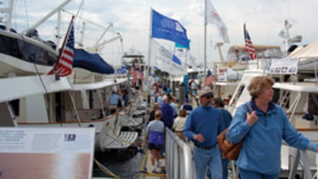 Organizers were pleased with the turnout at this year's Solomons Md., Trawler Fest.