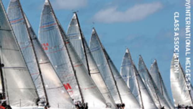 The final start of Melges 32 class at the 2009 Acura Miami Grand Prix