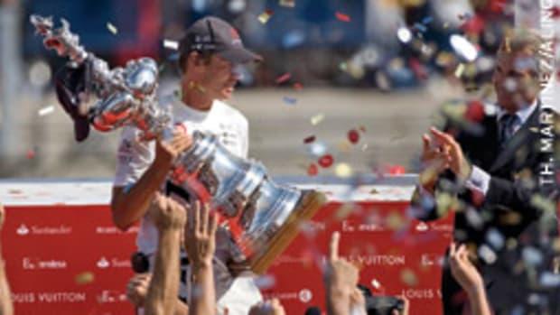Ernesto Bertarelli's Alinghi syndicate has twice won the America's Cup.