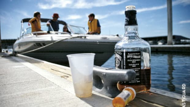 The effects of alcohol or drugs are exacerbated on the water by prolonged exposure to the sun and other factors.