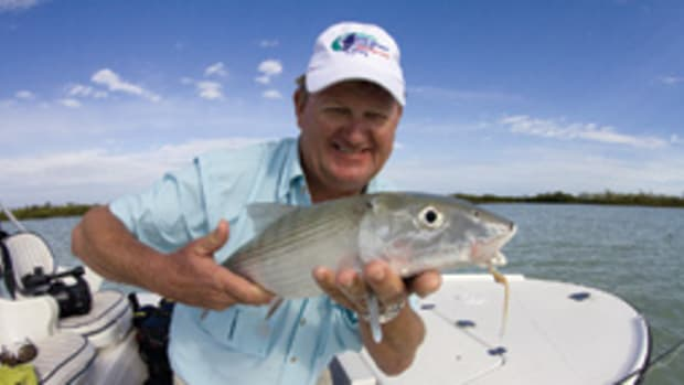 Guy Harvey is a passionate angler, diver and painter. His renovated resort opened last July.