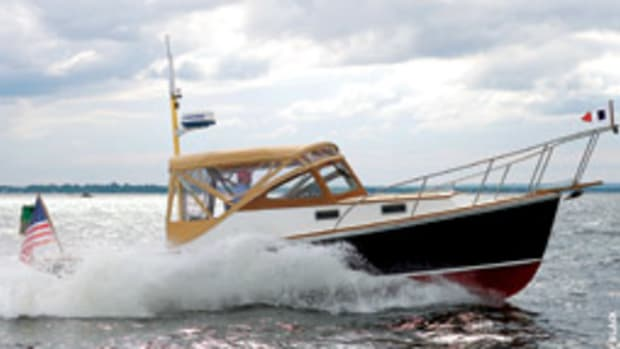 The Dyer 29 was designed to be a seakindly boat that a couple can take cruising.