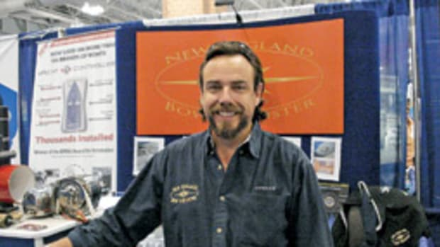 Bill Jennings says his products give boaters more control - and more fun - on the water.