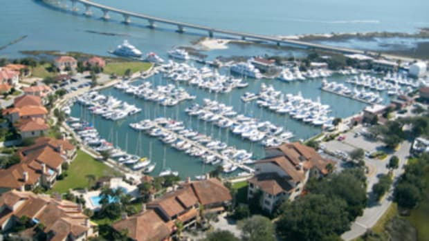 Camachee Cove Yacht Harbor is a premier marine destination in St. Augustine, Florida.