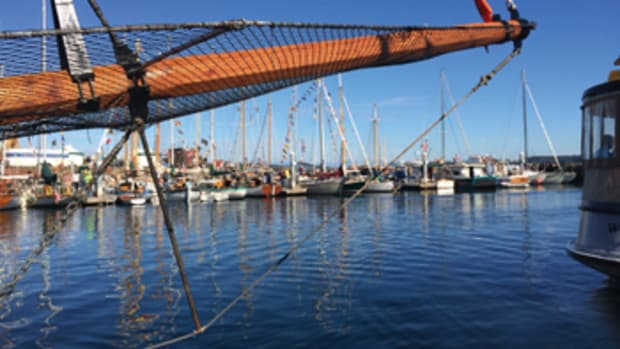 The range of boats at the Port Townsend Wooden Boat Festival is vast.