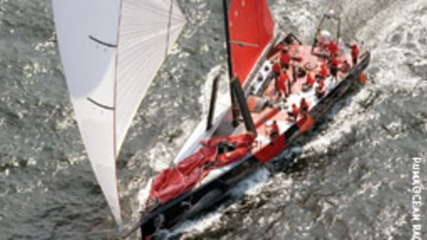 Puma Ocean Racing's skipper is Rhode Island's top boater.
