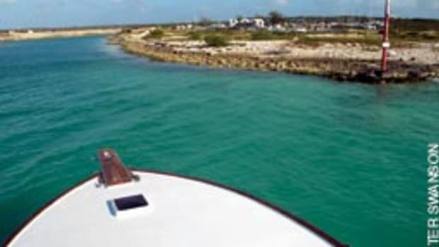 With no autopilot, the boat would have to be hand-steered some 700 nautical miles to Florida.