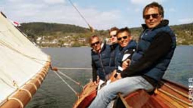 Four's Company (from left): Ingo Hopfgartner (co-owner), Michael Kopezky, Wolfgang Jobstl (co-owner) and Otto Stornig