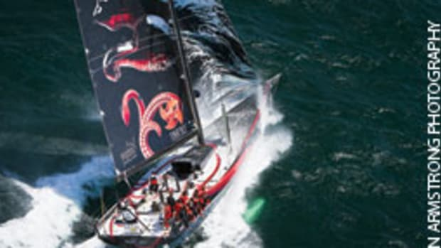 Mar Mostro has a shot at becomming the first U.S.-flagged boat to win the Volvo Ocean Race.