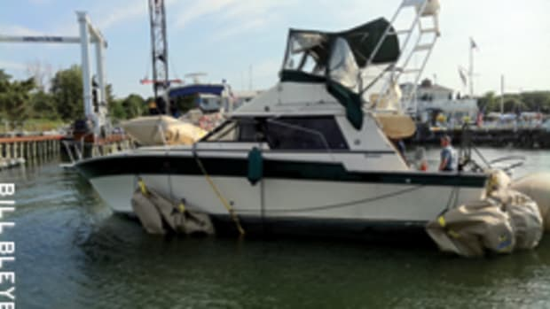 Three children died when Kandi Won capsized and sank on Long Island Sound while returning from Fourth of July fireworks.