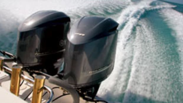 Power to play: new outboards, sterndrives, pods and more