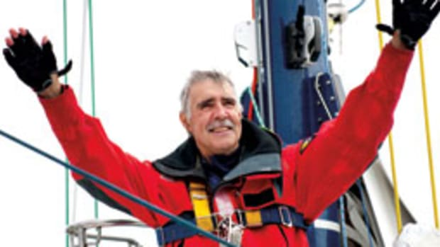 In 2009, Rich Wilson became only the second American to finish the Vendee Globe.