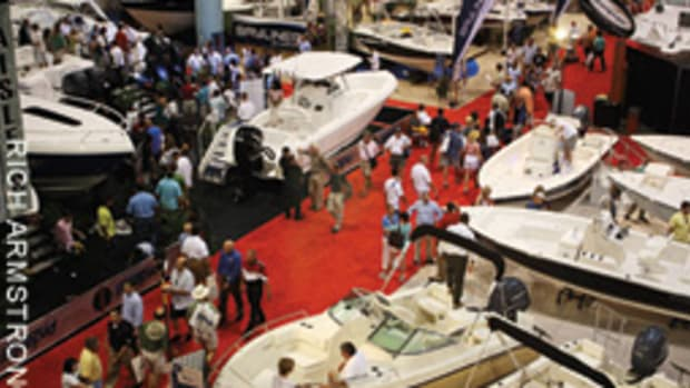 The Miami Beach Convention Center is one of the boat show's three locations.