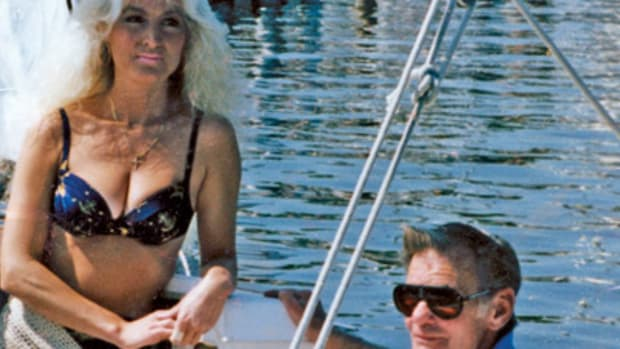 JJ and would-be first mate Kathy Prati