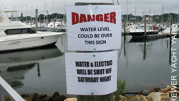 Does your marina take a pre-emptive approach to storms?
