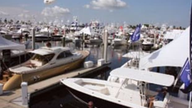 The vast Fort Lauderdale International Boat Show, with its thousands of boats, is like a Disneyland for boaters.