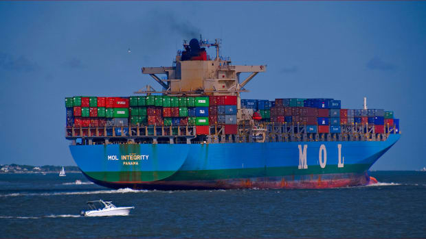 Photo of container ship