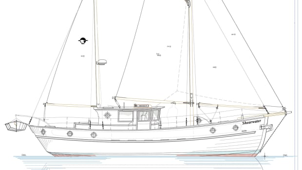 Illustration of the Shearwater 39