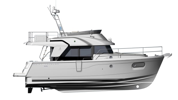 Illustration of Beneteau Swift Trawler 35