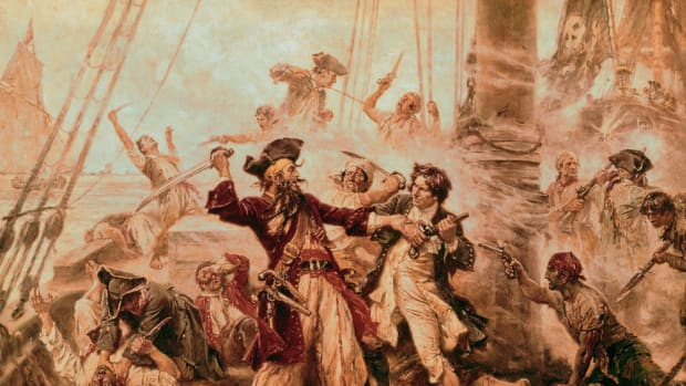 The_Capture_of_the_Pirate_Blackbeard_1718_by_Jean_Leon_Gerome_Ferris
