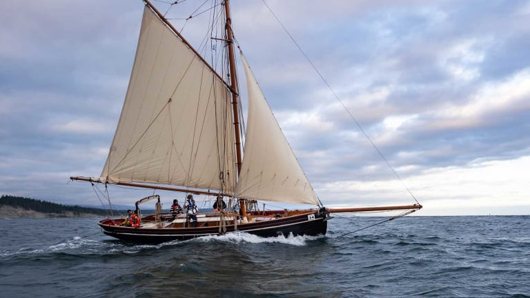 An English Cutter Races to Alaska